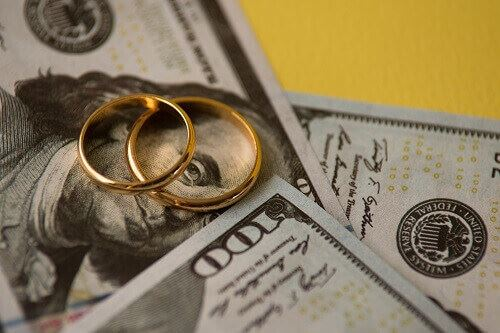 Money in a high asset divorce